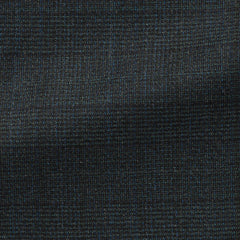 Angelico-blue-green-black-wool-with-subtle-glencheck Fabric