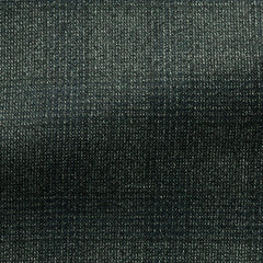 Drago-pine-green-brushed-s130-wool-with-white-stippling Fabric