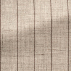 beige-wool-silk-linen-with-brown-pinstripes-C250gr Fabric