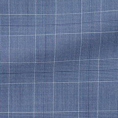 mid-blue-mélange-s130-wool-with-glencheck-BB215gr Fabric