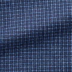 VBC-light-blue-dark-blue-wool-silk-linen-with-fine-check Fabric