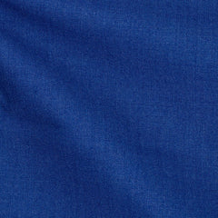 Loro-Piana-mid-blue-twill-wool-silk-cotton Fabric