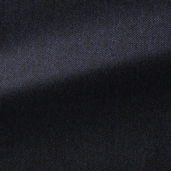 Angelico-blue-black-plain-weave-lambswool Fabric