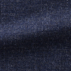 Angelico-mid-blue-faux-uni-fine-slubs Fabric