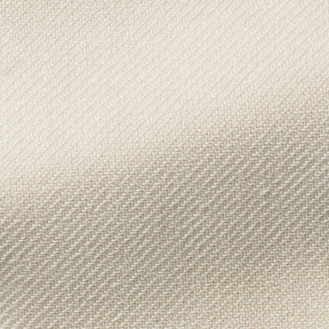 VBC off white linen silk cotton heavy twill