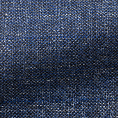 Angelico-mid-blue-mouliné-glencheck Fabric