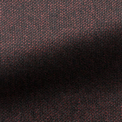 Angelico-red-black-faux-uni-wool Fabric