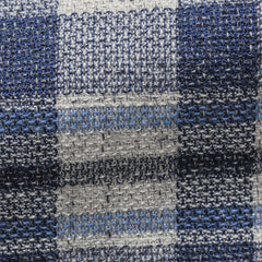 Angelico-mixed-blue-and-ivory-cotton-wool-blend-bold-check Fabric