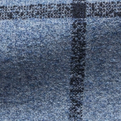 Solbiati-blue-cotton-wool-linen-blend-bouclé-with-blue-windowpane Fabric