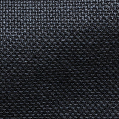 Angelico-midnight-blue-linen-cotton-chunky-mesh Fabric