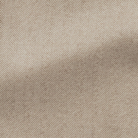 taupe white s100 wool herringbone