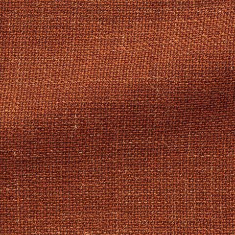 Angelico Burnt Orange Wool Linen Blend Mesh