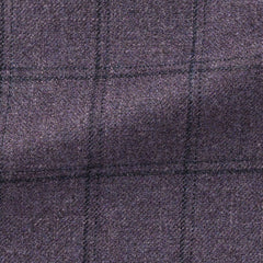 purple-wool-silk-cashmere-faux-uni-with-dark-purple-check Fabric
