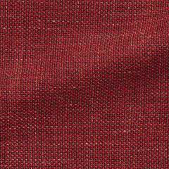 rust-red-wool-linen-blend-mesh Fabric