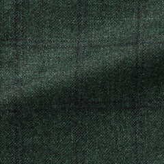 pine-green-wool-silk-cashmere-with-subtle-navy-check Fabric
