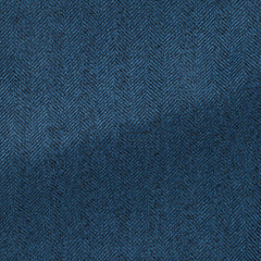 royal-blue-faux-uni-s100-wool-herringbone Fabric