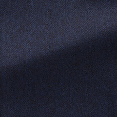 midnight-blue-faux-uni-wool-herringbone Fabric