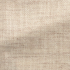 sand-ivory-silk-linen-cotton-blend-slubbed-herringbone Fabric