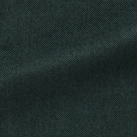 Angelico Ocean Green Black Faux Uni Wool