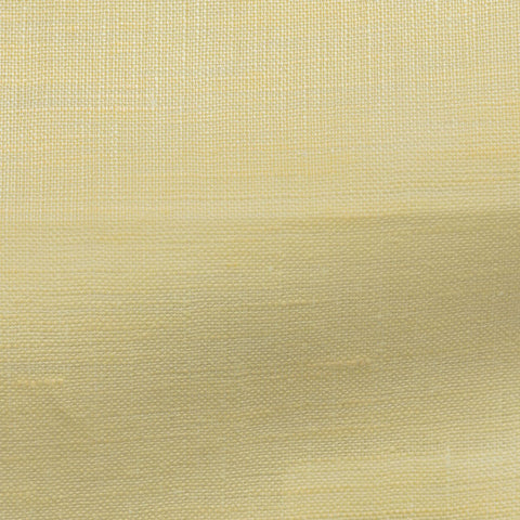 Monti Light Yellow Linen Open Weave