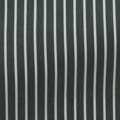 green-stretch-cotton-blend-with-white-stripes Fabric