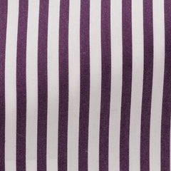 white-stretch-cotton-blend-with-purple-stripes Fabric
