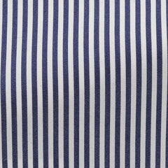 light-blue-stretch-cotton-blend-with-dark-blue-stripes Fabric