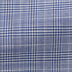 light-blue-cotton-with-dark-blue-glencheck Fabric