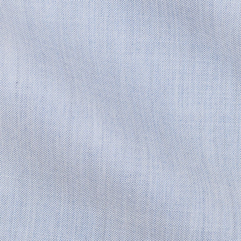 Thomas Mason oxford chambray light blue soft denim look
