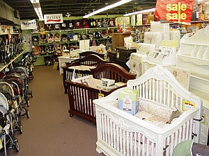 Car seats, strollers and cribs at Babysupermarket