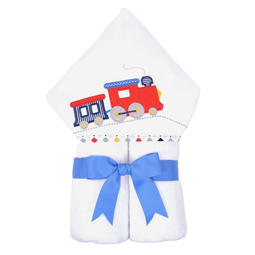 3 Marthas Baby Care 3 Marthas Everykid Hooded Towel Train