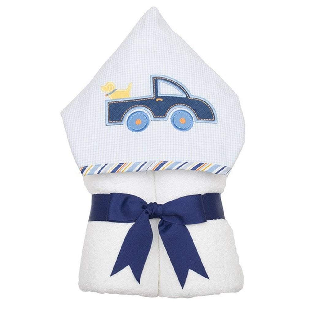3 Marthas Baby Care 3 Marthas Everykid Hooded Towel Truck