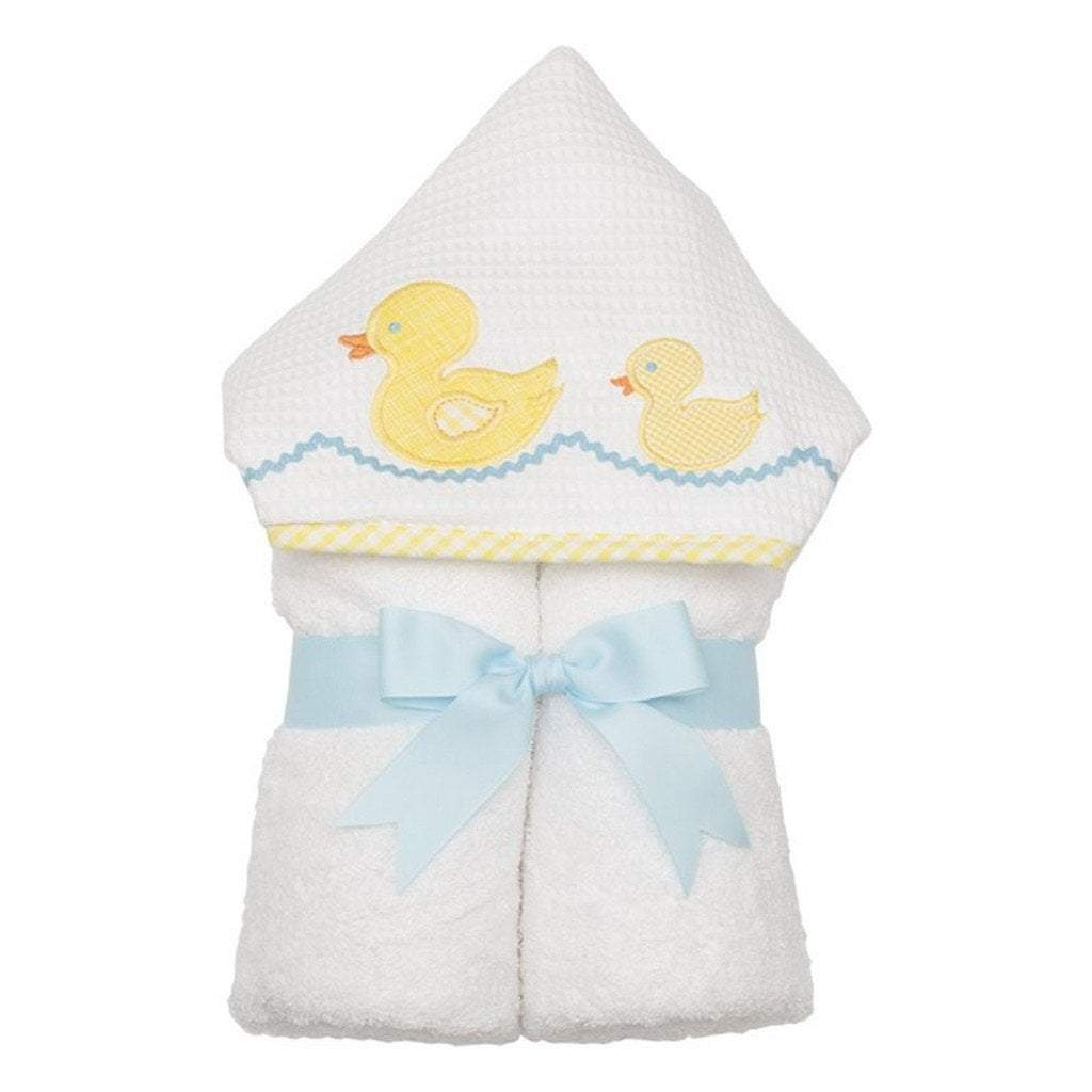 3 Marthas Baby Care 3 Marthas Everykid Hooded Towel Yellow Duck
