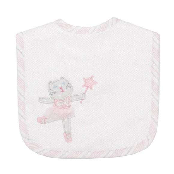 3 Marthas Baby Care 3 Marthas Feeding Bib Ballet Kitty