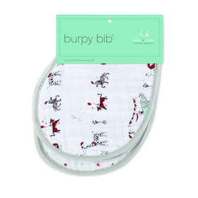Aden and Anais Classic Infant Burpy Bib Vintage Circus-Gifts & Apparel-Babysupermarket