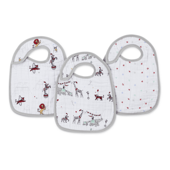 Aden and Anais Classic Infant Snap Bib-Gifts & Apparel-Babysupermarket