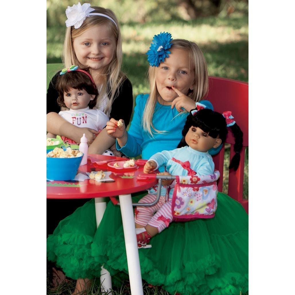 Adora Charisma Doll Table Feeding Seat-Dolls-Babysupermarket
