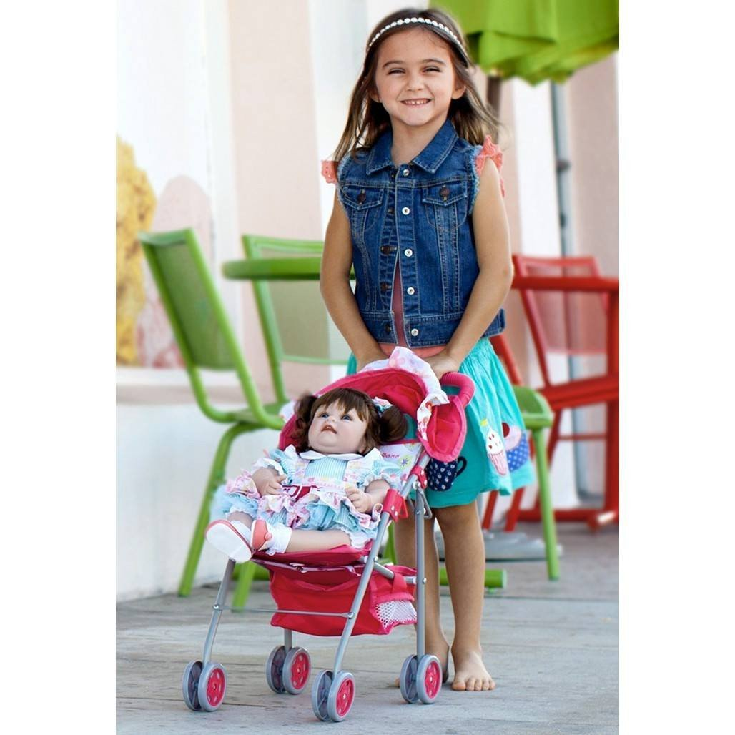 Adora Charisma Doll Umbrella Stroller with Shade-Dolls-Babysupermarket