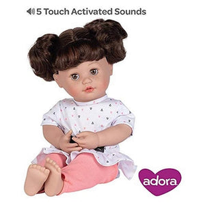 Adora Charisma Dolls Adora Charisma My Cuddle & Coo Baby Kitty Kiss Doll Brunette
