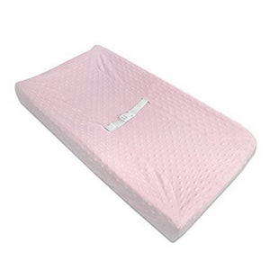 American Baby Nursery Decor Pink American Baby Chenille Contour Changing Pad Cover Minky Dot