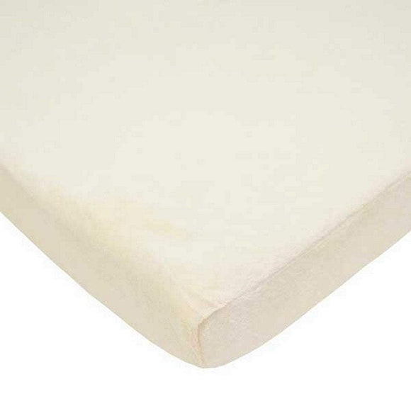 American Baby Nursery Decor White American Baby Company 100% Cotton Jersey Cradle Sheet