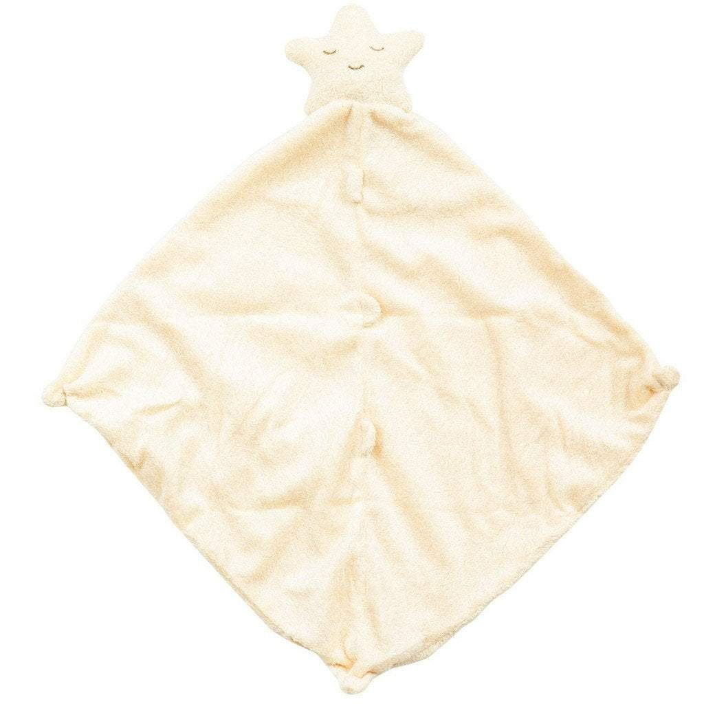 Angel Dear Gifts & Apparel Angel Dear Blankie Star Yellow