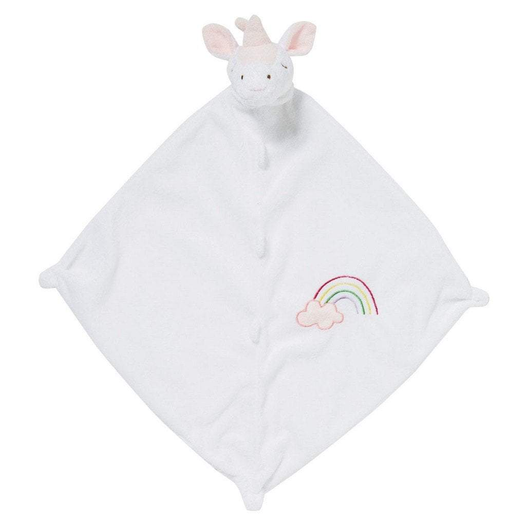 Angel Dear Gifts & Apparel Angel Dear Blankie White Unicorn