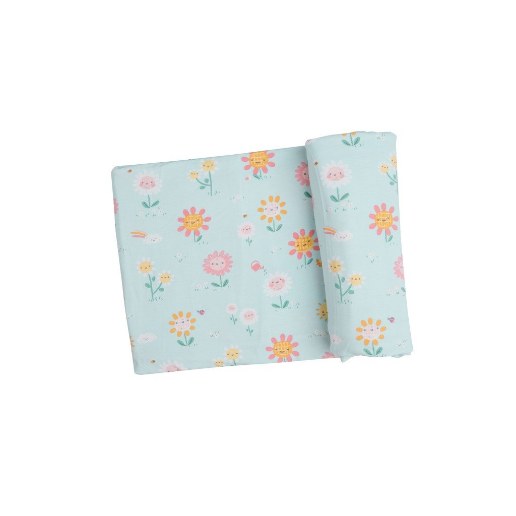 Angel Dear Baby Blankets Angel Dear Hello Daisy Swaddle Blanket