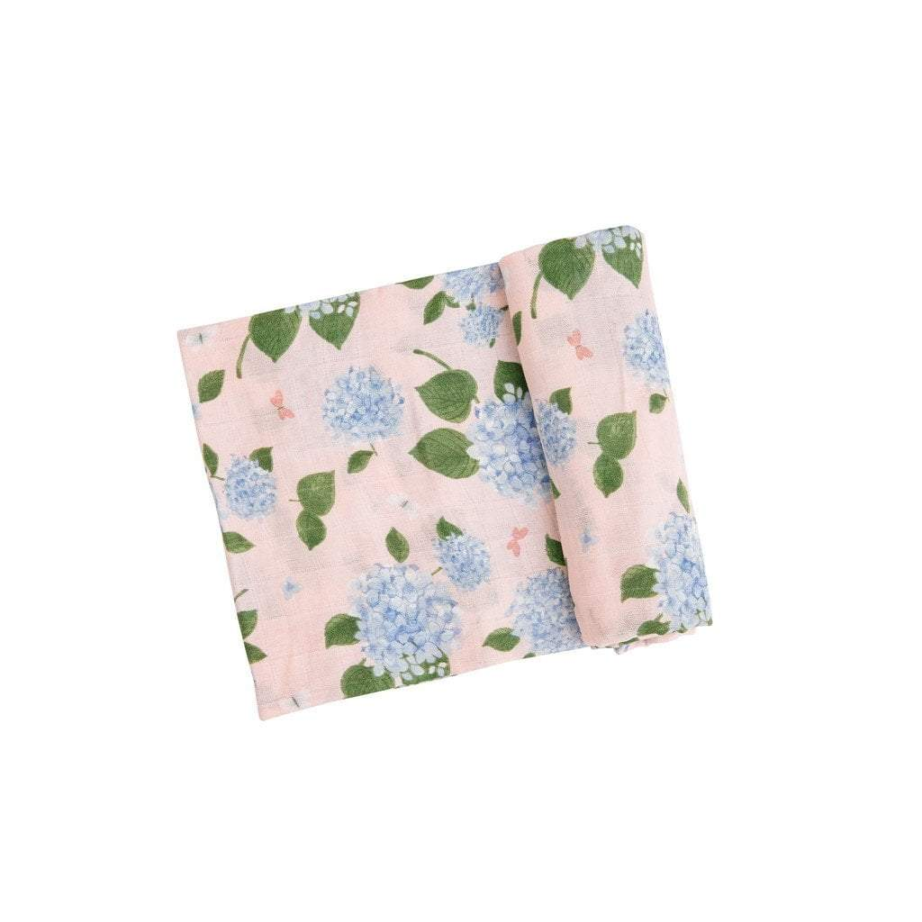 Angel Dear Baby Blankets Angel Dear Hydrangeas Swaddle Blanket