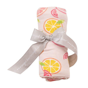 Angel Dear Baby Blankets Angel Dear Infant Swaddle Blanket in Citrus