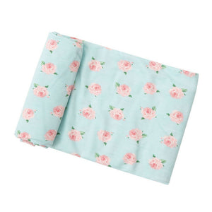 Angel Dear Baby Blankets Angel Dear Infant Swaddle Blanket in Petit Rose