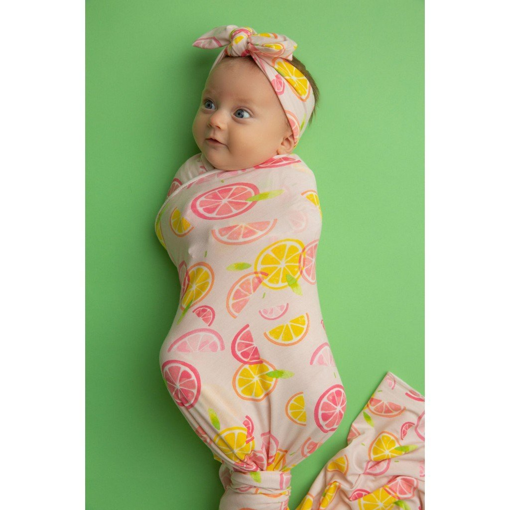 Angel Dear Apparel Angel Dear Knotted Infant Gown
