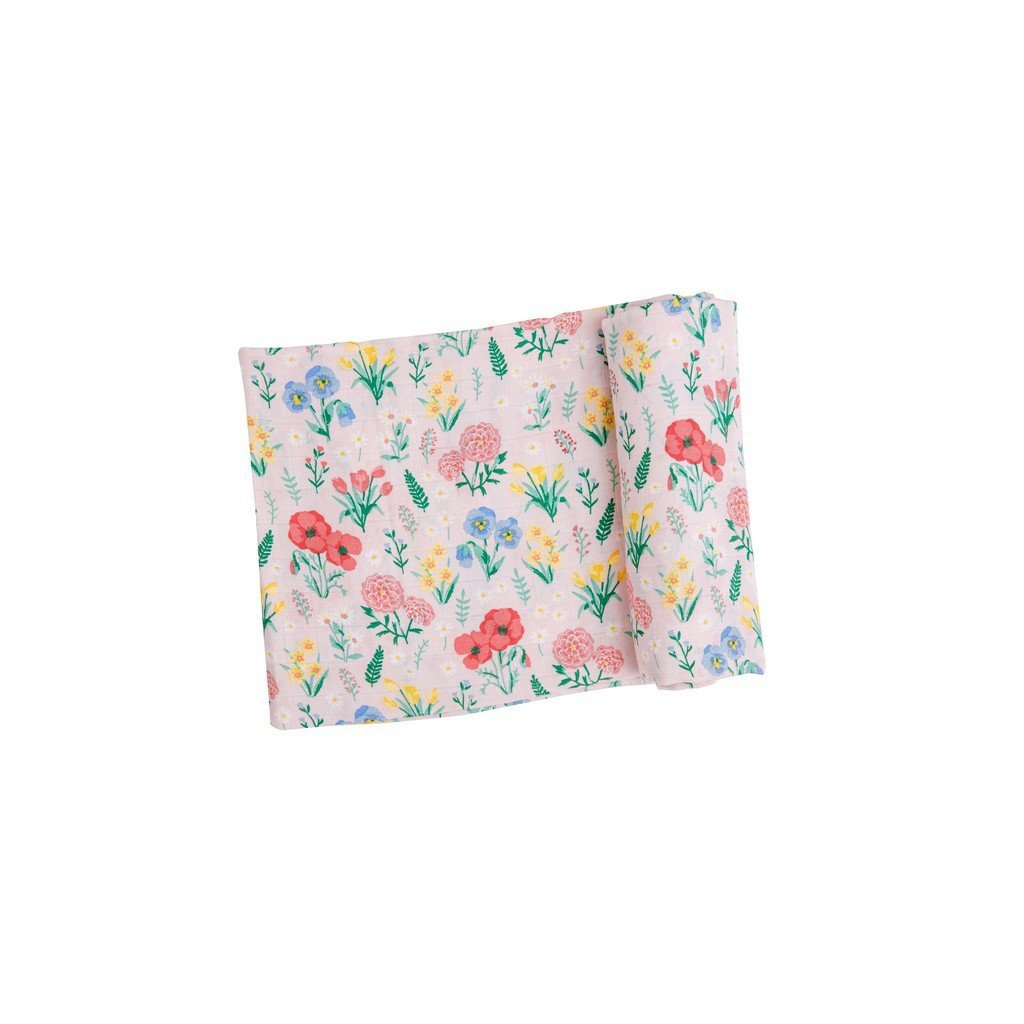 Angel Dear Baby Blankets Angel Dear Summer Florals Swaddle Blanket