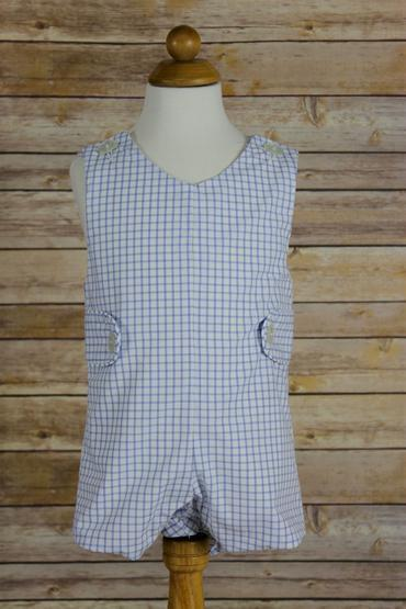 Babysupermarket Anvy Kids Nick Blue Windowpane Shortall